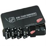 Detroit Red Wings Dominoes Set, 28 Piece Double Six Set in Collectors Tin